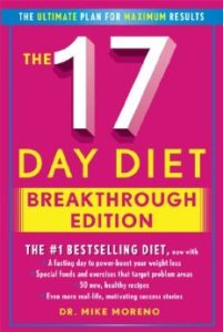 cover of The 17 Day Diet Breakthrough Edition by Mike Moreno